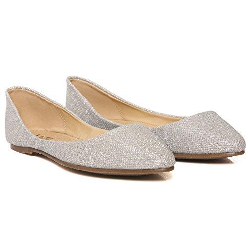 Shalimar Chaussures Balletto Donna Argent