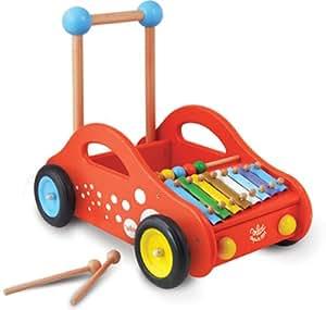 Vilac - 1101 - Véhicule pour Enfant - Chariot de Marche Musical