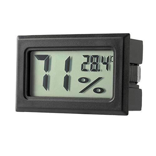 Peanutaso Profesional Mini Digital LCD Termómetro Higrómetro Humedad Medidor de Temperatura Interior...