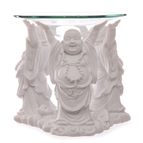 white-laughing-buddha-oil-burner-11cm-luxury-birthday-gifts