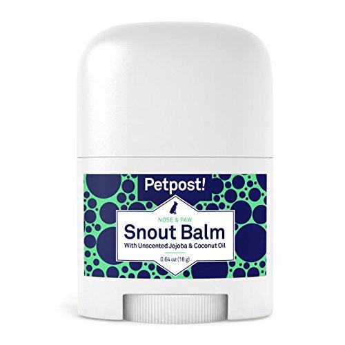 Petpost   Schnauzen-Balsam für Hunde - pflegt, beruhigt und schützt trockene Hundenasen mit feuchtigkeitsspendenden Zutaten - Bio-Kokosöl, Jojobaöl und Sheabutter