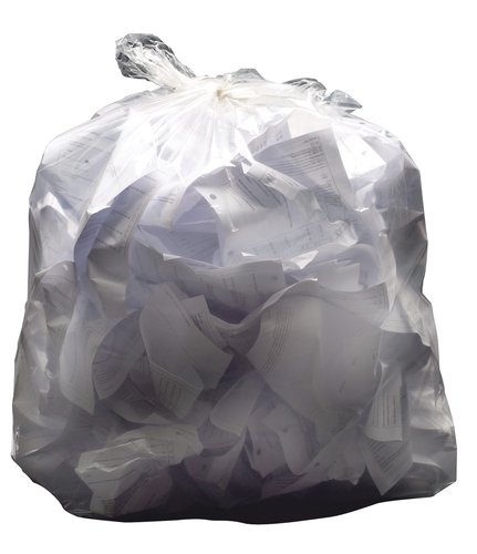 2WORK SWING BIN LINERS WHITE PK1000 28G