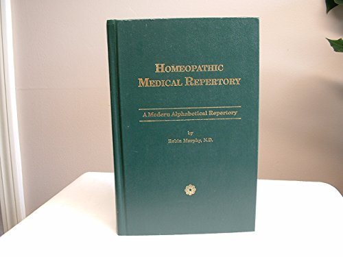 Homeopathic Medical Repertory by Robin Murphy (1993-02-01)