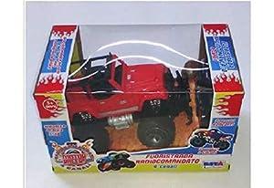 RONCHI- 10429 Coche Todoterreno Motor Racers radiocontrolado Escala 1:18 Colores Surtidos 1 Pieza