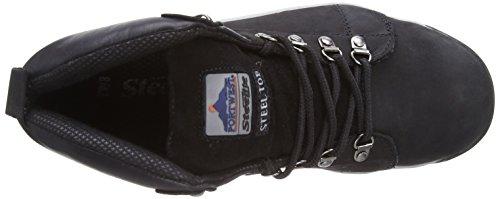 Portwest Steelite Mid Cut Nubuck Boot Sb, Chaussures de sécurité Homme Noir (Black)