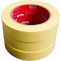 CON:P B22299 Kreppbandset 3 Stück, 25 mm x 50 m