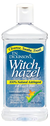 Lotus Natural (T.N. Dickinson's Astringent, 100% Natural, Witch Hazel 16 fl oz (473 ml) by Lotus)