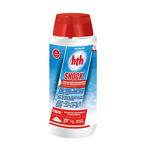 Chlore Choc Poudre Hypochlorite De Calcium HTH Shock 2 Kg