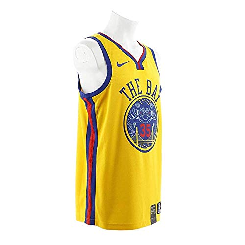 Nike NBA Golden State Warriors Stephen Curry 30 SC30 2017 2018 City Edition Jersey Oficial Away, Trikot, Small