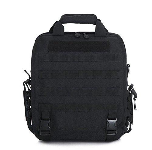 Wmshpeds Gli uomini dell'esercito Tactical Pack Borsetta donna spalla illimitato borsa messenger in tela digitale multifunzionale Outdoor Camouflage Pack E