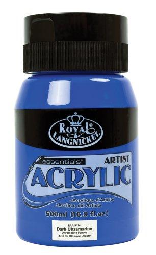 Royal & Langnickel RAA-5114 - Essentials 500 ml Acrylfarbe, dunkles ultramarin