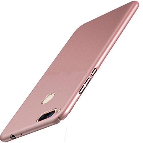 NAVT Xiaomi Mi Note 3 Funda,Ultrafino Estructura completamente rodeada la estructura de superficie mate Durable PC Protector teléfono funda para Xiaomi Mi Note 3 Smartphone (oro rosa)