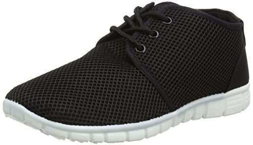 New Look Mara, Sneakers Basses Femme Noir - Black (01/Black)