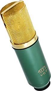 MXL Mics V67G Large Capsule Condenser Microphone (Gold and Green)