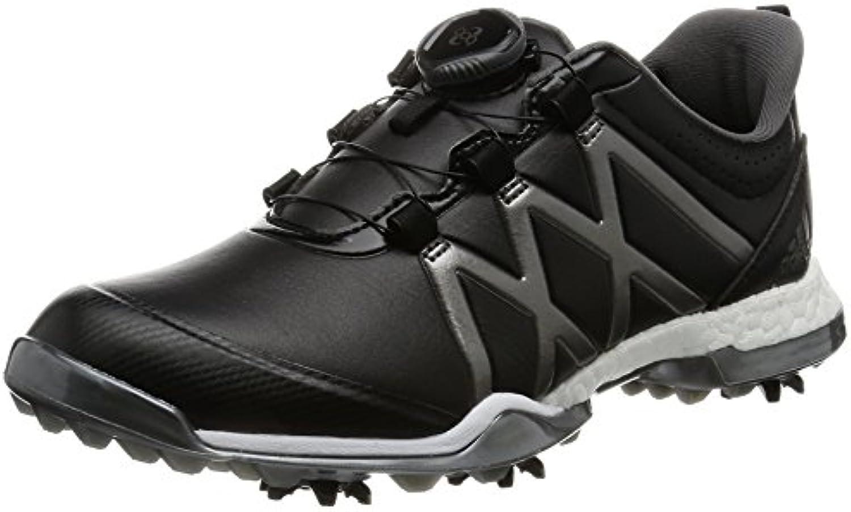 Adidas W Adipower Boost Boa, Zapatos de Golf para Mujer, Multicolor (Negro/Plata), 38 EU