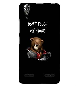 PrintDhaba Quote D-2390 Back Case Cover for LENOVO A6000 PLUS (Multi-Coloured)
