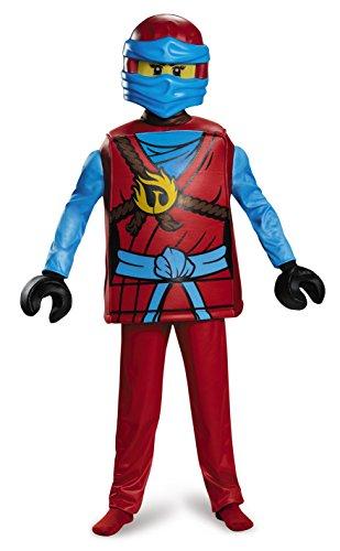 Lego Kostüm, Ninjago Nya, Deluxe (Größe L) (Destiny Childs Kostüme)