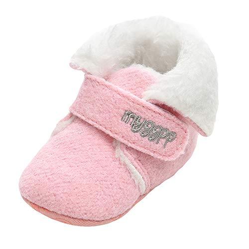 LANSKIRT _ Bébé enfant Chaussons bébé, Mode Chaussures bébé Fille garçon Chaussons Chauds en Fourrure pour bébé Chaussure de Marche en Coton bébé
