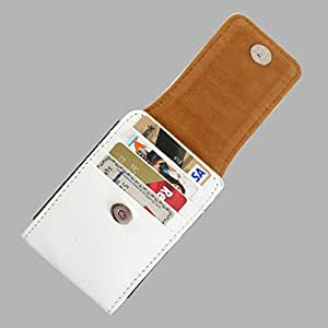 DooDa PU Leather Pouch Case Cover With Magnetic Closure For Panasonic Eluga A