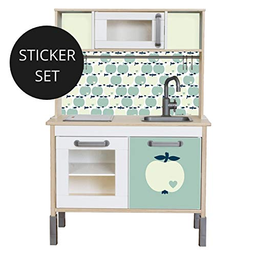 Limmaland Sticker byGraziela für IKEA DUKTIG (Mint) - Kinderküche Nicht inklusive