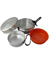 Cao Camping Bivouac - Set de cocina para acampada, talla 4,5 l