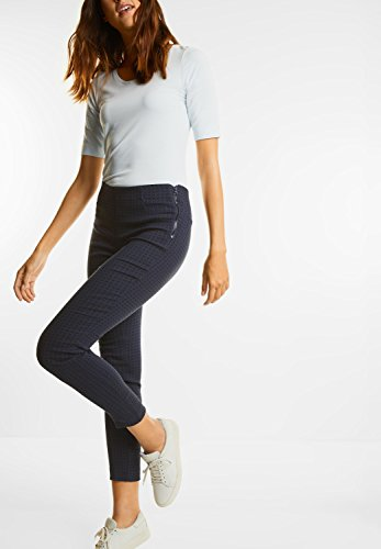 Street One -  Pantaloni  - Donna night blue (blau)