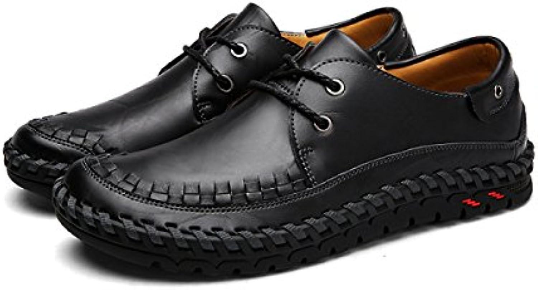 Otoño E Invierno Zapatos De Hombres Inglaterra Salvaje Zapatos De Hombre Zapatos Hechos A Mano  -