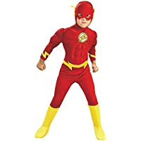 Los niños de tamaño de lujo del vestuario Flash Large (7-8 years)