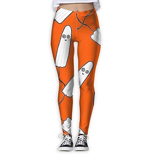 fdghjdfghjfhjd Sport Damen Leggings Yoga Pants Kawaii Tampons Orange High Waist Out Pocket Yoga Pants Tummy Control Workout Running Stretch Yoga Leggings Funny Yoga Equipment Autumn Trousers -