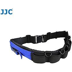 JJC Lente GB-1 Fotografía Cinturón Multiusos Bolsas del Caso 4 de Metal D-Anillos