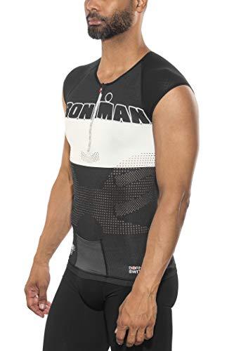 COMPRESSPORT TR3 Triathlon Tank Top Ironman Edition Stripes Black Größe T1 | S 2017 Triathlon-Bekleidung