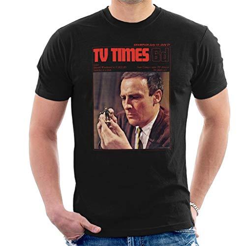 TV Times Edward Woodward 1967 Cover Men's T-Shirt - Man-shirt Wicker