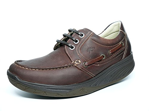 Fluchos, Scarpe da barca uomo rosso Size: 41