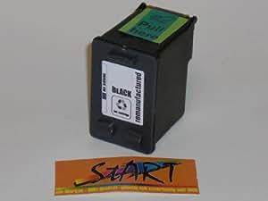 Start - Cartouche d'encre compatible avec Puce remplace HP 337, Noir pour Hewlett Packard Deskjet 5940 , 6940 , 6980 , D4160. HP Officejet (All-in-One) 6310, 6315. HP Photosmart 2575 , 8050 , C4180 , D5160. - All-in-One. -cdirectement prête à l'emploi - Puce intégré comme à l'origine - 200% contenance - 100% contrôle du niveau d'encre - Encre de Qualité- Le meilleur du compatible.
