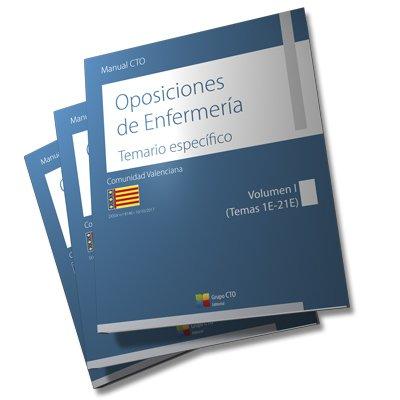 Manual CTO Oposiciones de Enfermería. Comunidad Valenciana 2017 (DOGV n.º 8146, 10-10-2017) Obra completa