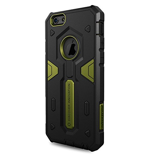 iPHONE 6 / 6S - DEFENDER CASE STRONG [ROT] - OUTDOOR HYBRID BUMPER - Cover, Hülle, Rahmen, Skin - powered by i-tecfox grün