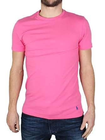 Polo Ralph Lauren - Rose Crew Neck T-Shirt - Homme - Taille: XL