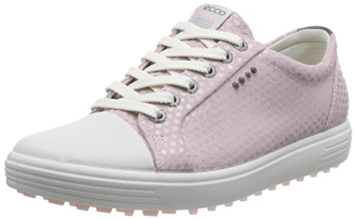 Ecco  ECCO WOMENS GOLF CASUAL HYBRID, Chaussures de Golf femme - Rose - Pink (VIOLET ICE05405), 36