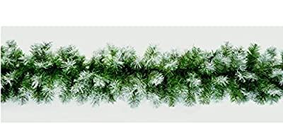 9ft Beautiful Premier Snow Dusted Christmas Garland