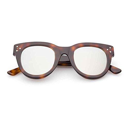 Spektre She Loves You Sonnenbrille Männer Frauen hoher Schutz spiegel Made in Italy
