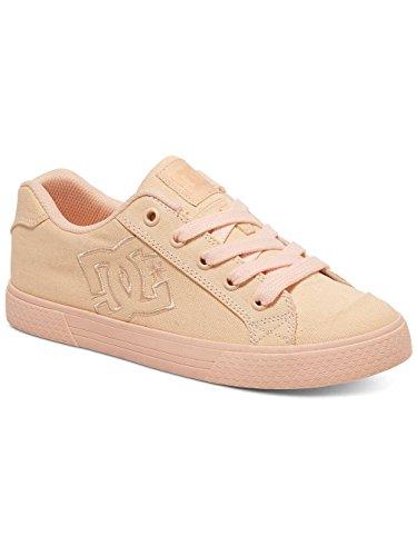 DC Shoes Chelsea Tx, Baskets Basses Femme Multi-Couleurs - Peach Cream