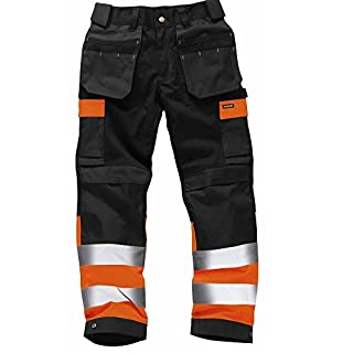 Army And Workwear Colour: Black/Orange | Size: 46R