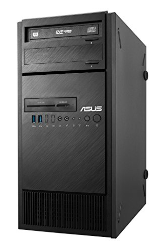 "Asus ESC300 G4-M1650 Workstation Tower, Display da 24"", Processore Intel E1245 V6, Memoria RAM 8 GB, 1920 x 1080 pixels, 1 TB HDD"