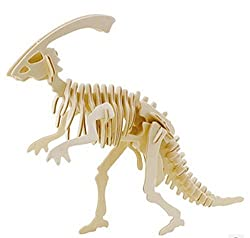 JP218 3D Assembly Wooden Animal Puzzle (Dinosaur)