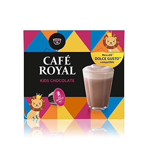 Café Royal Kids Chocolate 48 Nescafé Dolce Gusto kompatible Kapseln, 3er Pack (3 x 16 Kaffeekapseln)