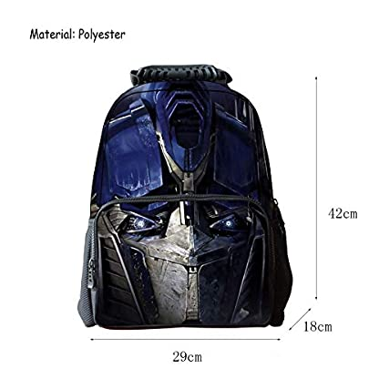 41wSiEyvx%2BL. SS416  - JIAN Mochila Infantil Transformers 3D Cartoon Anime Bag