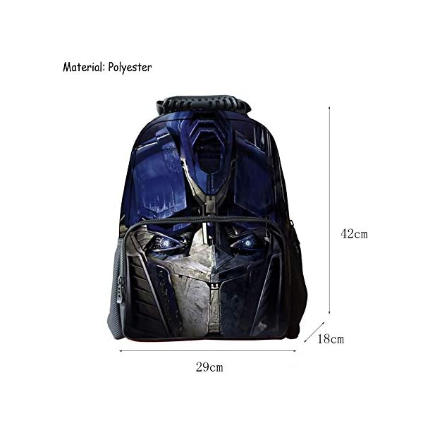 41wSiEyvx%2BL. SS600  - JIAN Mochila Infantil Transformers 3D Cartoon Anime Bag,Transformers(C)-42 * 18 * 29cm