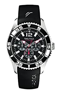 Nautica A12022G - Reloj de pulsera hombre, resina, color negro de Nautica