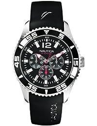 Nautica A12022G - Reloj de pulsera hombre, resina, color negro