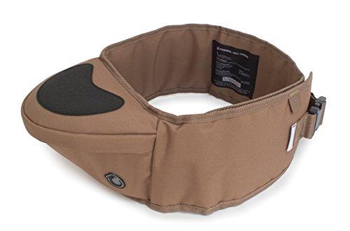 Hippychick HCHIP0005 - Asiento de cadera portabebés, color marrón